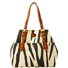 Dooney & Bourke Zebra Fabric