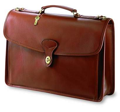 Jack George Single Gusset Leather Flap-Over