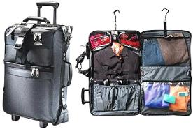 Click To Go Samsonite Carbon 2010 Series Page Wheel Cabin Garment Bag