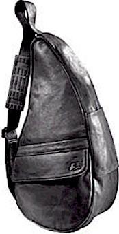#5104 Black Ameribag Medium Leather Healthy Bag