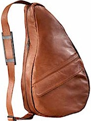 #5105 Brown Ameribag Large Leather Healthy Bag