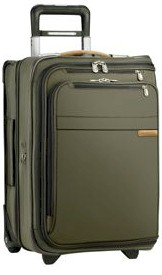 U175 Briggs & Riley Baseline Domestic Carry-On Upright Garment Bag