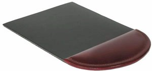 712 Bosca Mouse Pad in rich traditional old world leather
