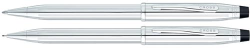 350105WG CRS Century II Chrome Pen/Pencil Set