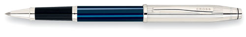 4642 CRS Century II Sterling/Blue Lacquer Rolling Ball