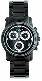 wmaq52 crs mens chrono bk stnls steel watch