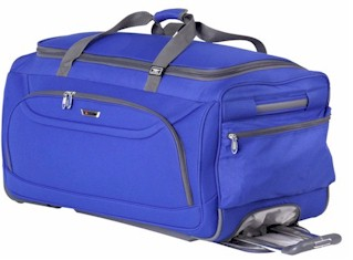 22828 delsey helium fusion 2.0 trolley duffle