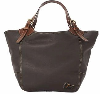 1M323 Dooney & Bourke Pebble Grain Leather Medium Valerie Bag