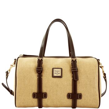 5L899 dooney bourke panama barrel satchel