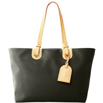 7S880  dooney bourke cork grommet shopper