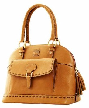 8L985 dooney bourke florentine vachetta domed satchel