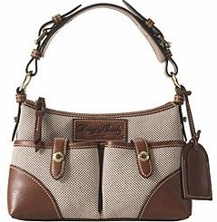 BE393  dooney bourke Birdseye Small Shoulder Bag specials