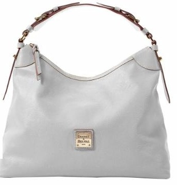 BF378  dooney bourke calf shoulder slouch specials