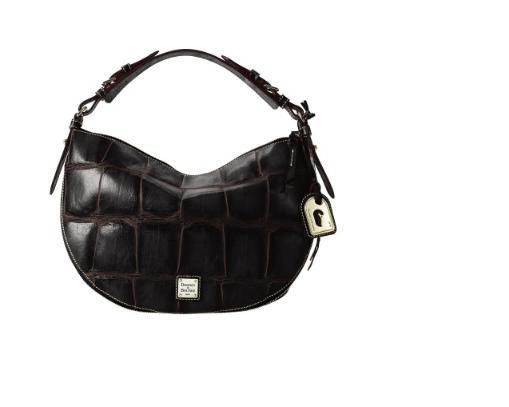Dooney and Bourke Croco Luna Bag