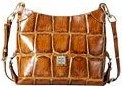 Dooney and Bourke Croco Fredrica Bag