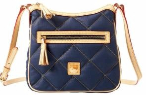 FQ955 Dooney & Bourke Quilted Spicy Pocket Crossbody-Specials