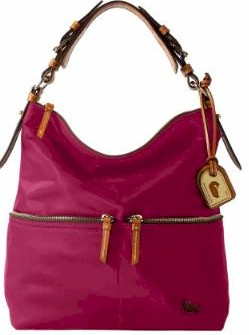 fw354 Dooney & Bourke Nylon Medium Pocket Sac Specials