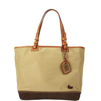 fw641 Dooney & Bourke Nylon Medium Lee Tote Specials