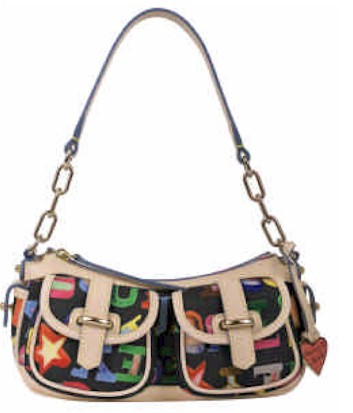 Dooney and Bourke Small Banana Bag