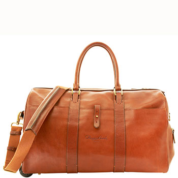 MBB77  Dooney & Bourke Bridle Rolling Traveler Carry-On