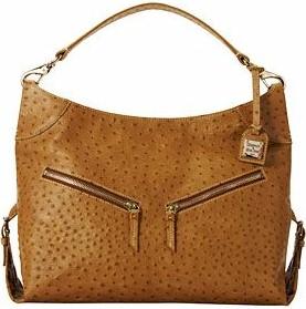 Click To Return Dooney Bourke Ostrich Large Cinzia Bag