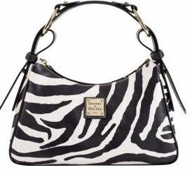 Dooney Bourke Zebra Large Hobo