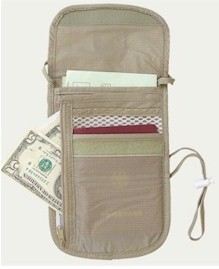 40023eagle creek dlx security neck wallet