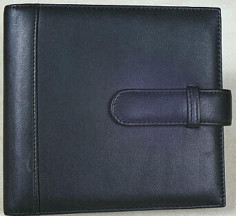 10 CD Leather Holder