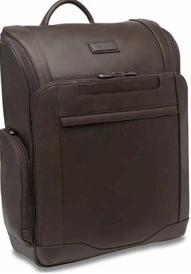 Hartmann Aviator Leather Backpack Expresso