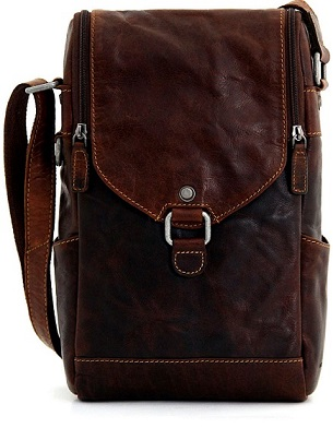 7513 Jack Georges Voyager Crossbody Wine Bag