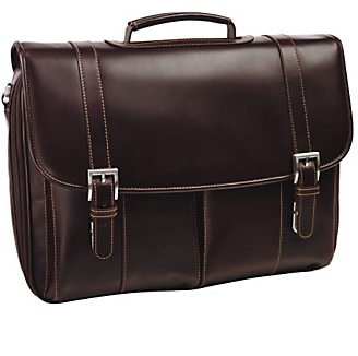 4615154 johnston & murphy ascension flap over briefcase