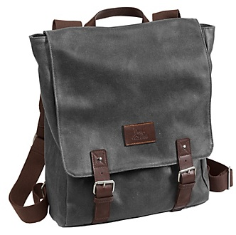 46-15629 johnston and murphy canvas flapover backpack