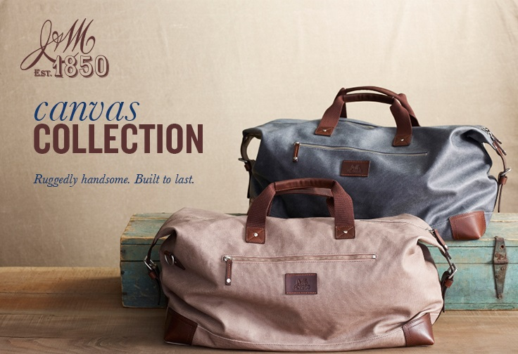 Johnston & Murphy Canvas Collection