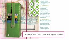 242 Lodis Audrey 7 inch credit card holder