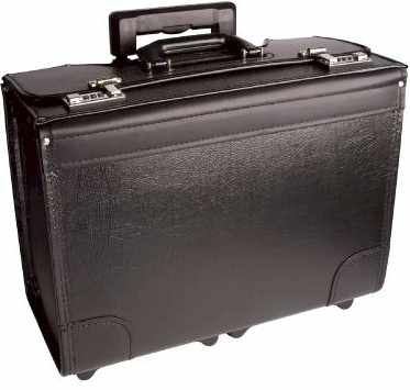 B66618W Vinyl Catalog Case on Wheels