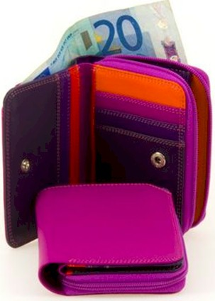 226 Mywalit Small Wallet w/Zip Around Purse