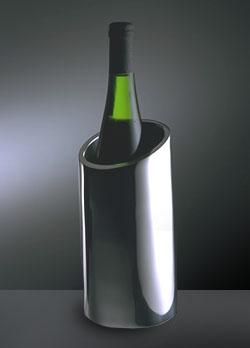 Nambe Wine/Chanpagn Holder