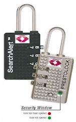 7470 SearchAlert TSA Approved Luggage Locks