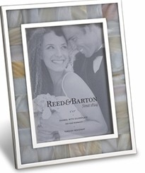 4457 reed and barton mother of pearl 5x7 frame