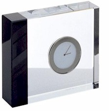 66500101 reed and barton elan dsk clock