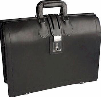 KB1058 leather briefbag