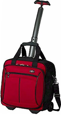 3017W Swiss Werks 2.0 Wheeled Tote RED promo25
