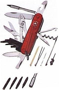#53919 Swiss Army Red Cybertool 34