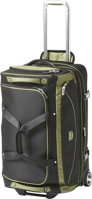 "4121056  travelpro tpro 26"" drop bottom rolling duffel"